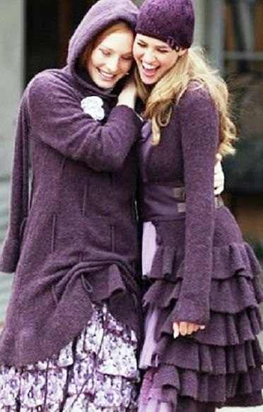 Холода моде не помеха. Предлагаю удивиться — осенний бохо во всей своей красе