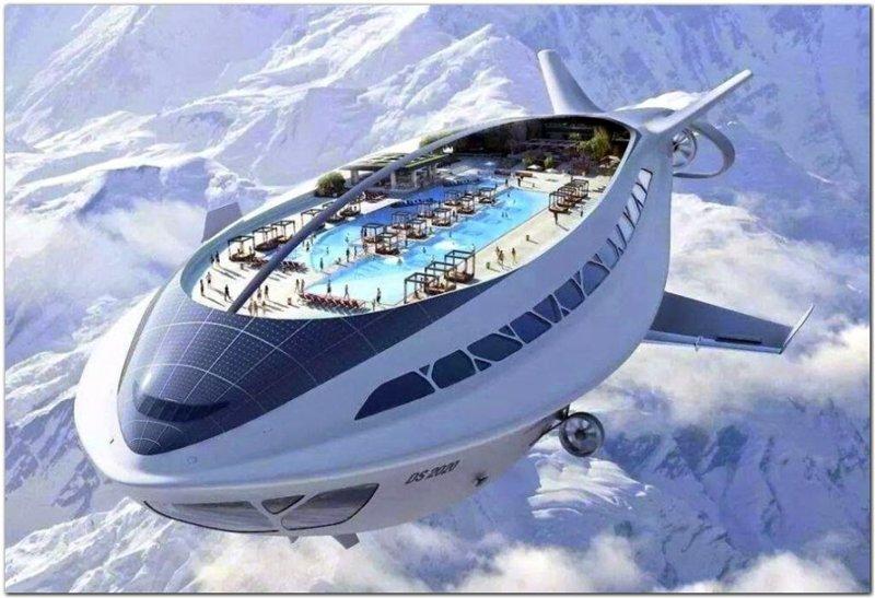 Дирижабли будущего архитектура, интересное, концептуальные фантазии, фабрик аидей