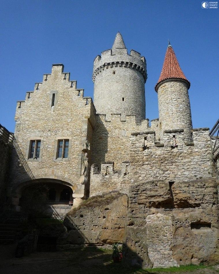 Крепость Кокоржин в Чехии