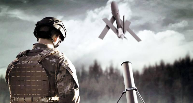 БПЛА-камикадзе: новые возможности наземных подразделений оружие