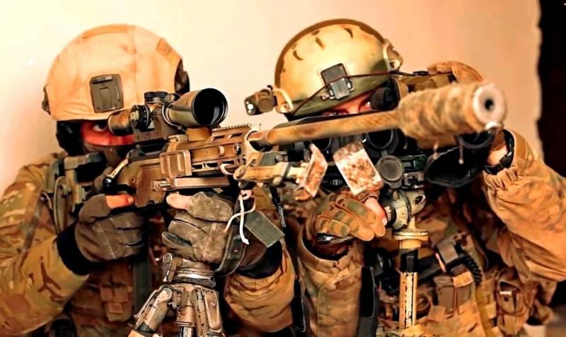 Российский спецназ в Сирии в…