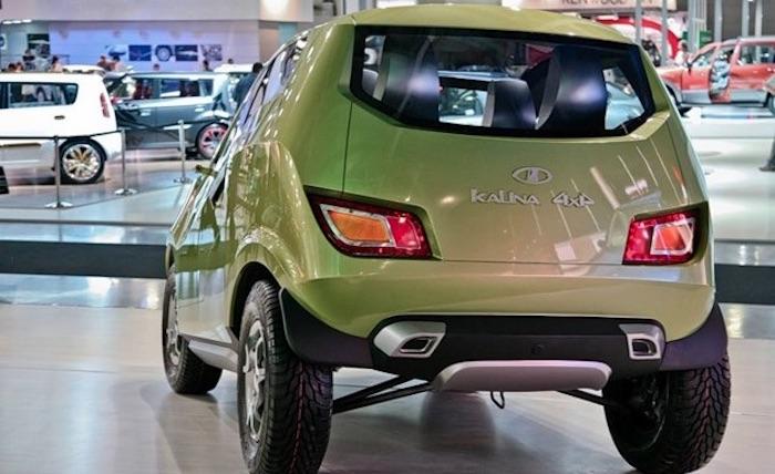 А это вы видели? Концепт Lada Kalina 4×4 Lada Kalina,концепт,марки и модели
