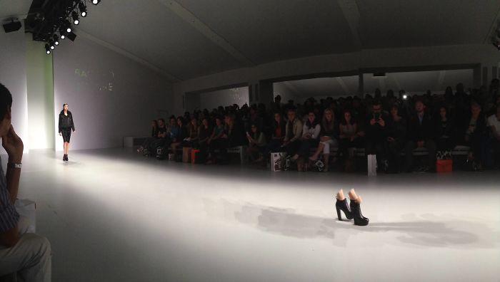 So I Tried To Take A Panorama At London Fashion Week