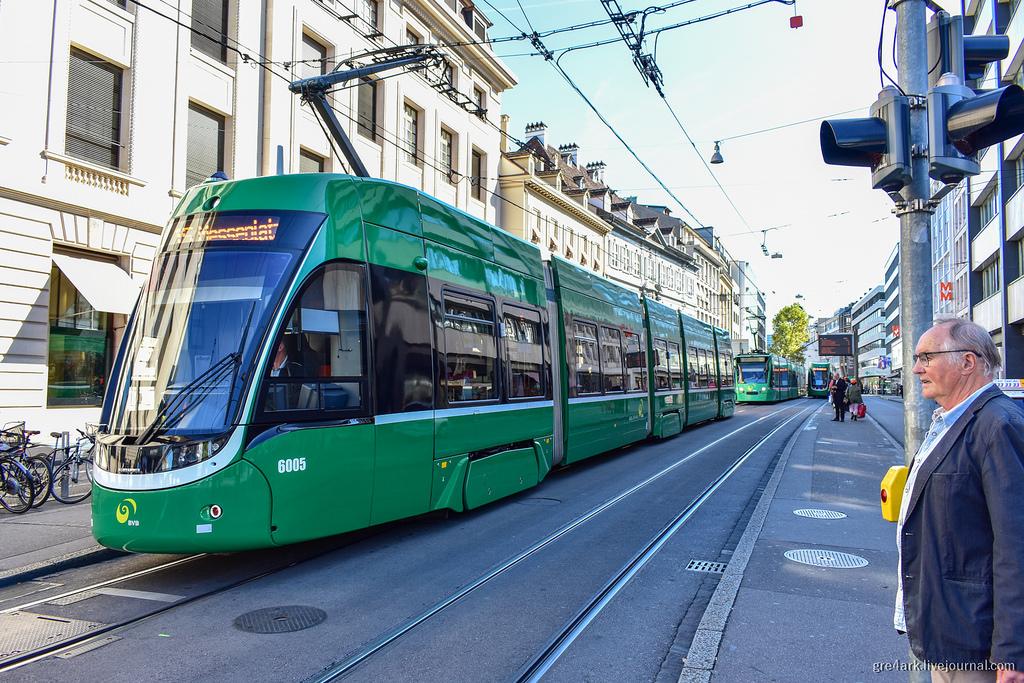 Современные европейские трамваи