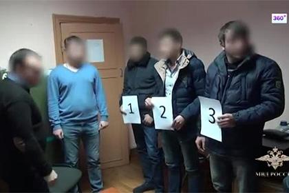 Появилось видео задержания в Москве похитителей людей