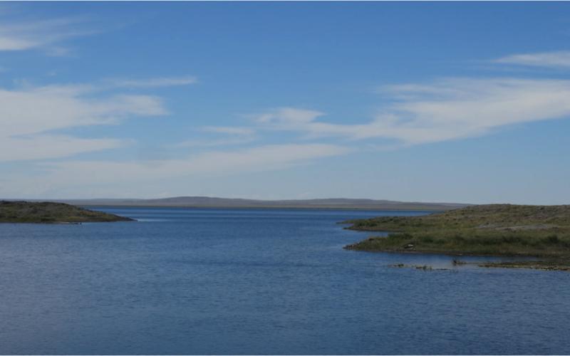 Самое радиоактивное озеро планеты атомное озеро