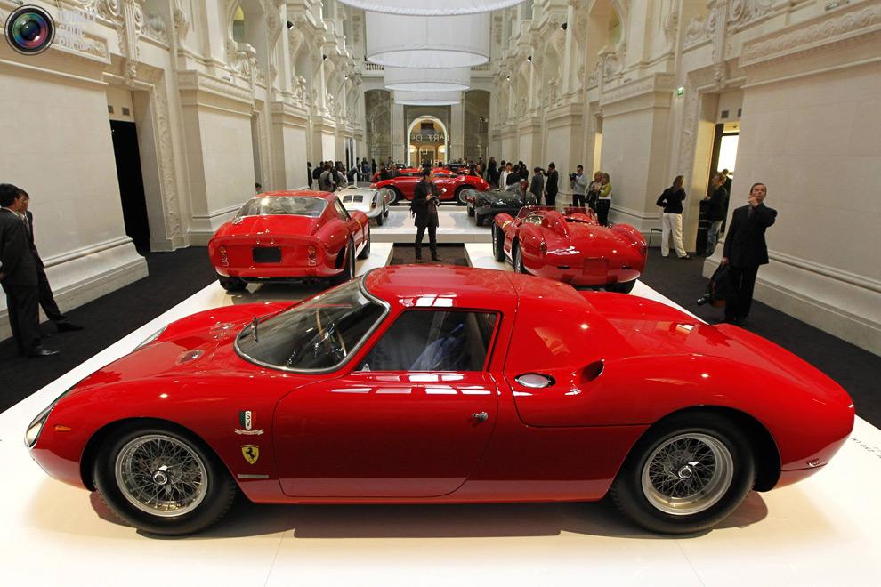 Коллекция классических автомобилей Ральфа Лорена авто,автомобиль,автосалон