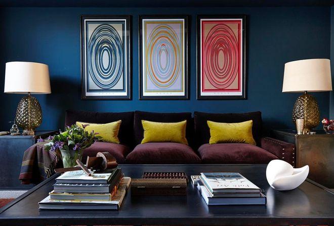 Современный Гостиная by Charlotte Crosland Interiors