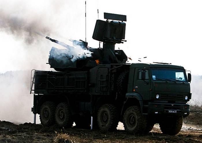 Зенитчики ЦВО провели боевые стрельбы  из новых «Панцирь-С1»