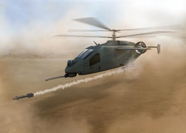 Американцы показали проект боевого разведывательного вертолета
