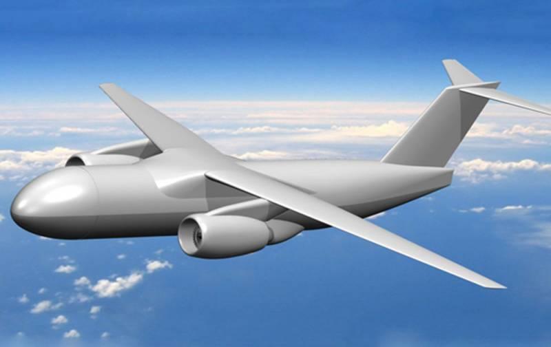 В ЦАГИ разрабатывают беспилотный самолет для перевозки контейнерных грузов
