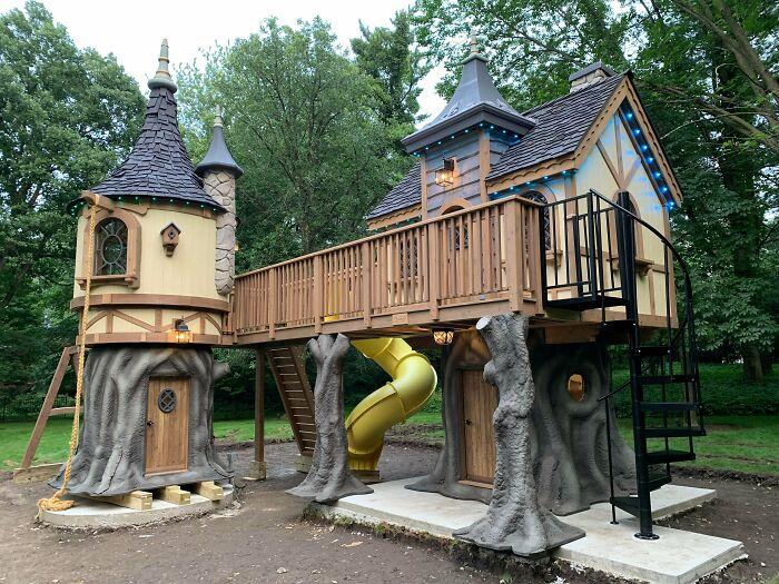 Примеры декора из дерева, заслуживающие внимания интерьер,переделки,рукоделие,своими руками,сделай сам