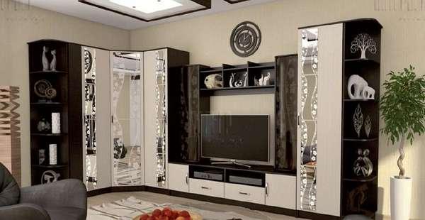 стенка в гостиную в современном стиле, фото 24