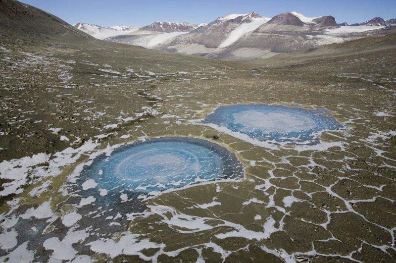 10. Сухие долины Макмердо, Антарктида интересно, необитаемые места, природа, удивительные места планеты, фото