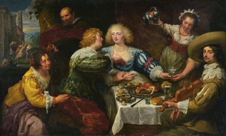 Фламандский художник Jan Cossiers (1600 – 1671)