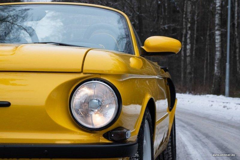 На месте Porsche должен быть Ferrari porsche, ЗАЗ 968, авто, автомобили, заз, запорожец, кастом, кастомайзинг