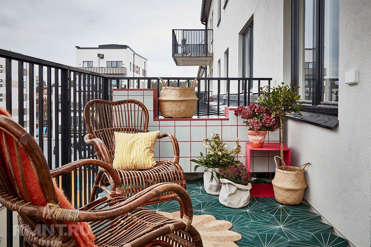 Пора на свежий воздух: идеи обустройства балконов