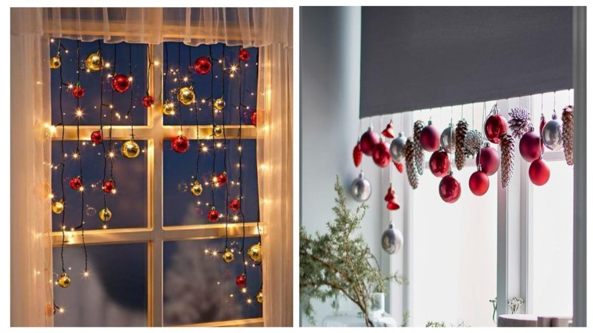 Украшения на окна к Новому году: 13 идей для праздничного настроения идеи для дома,новогодний декор,полезные советы