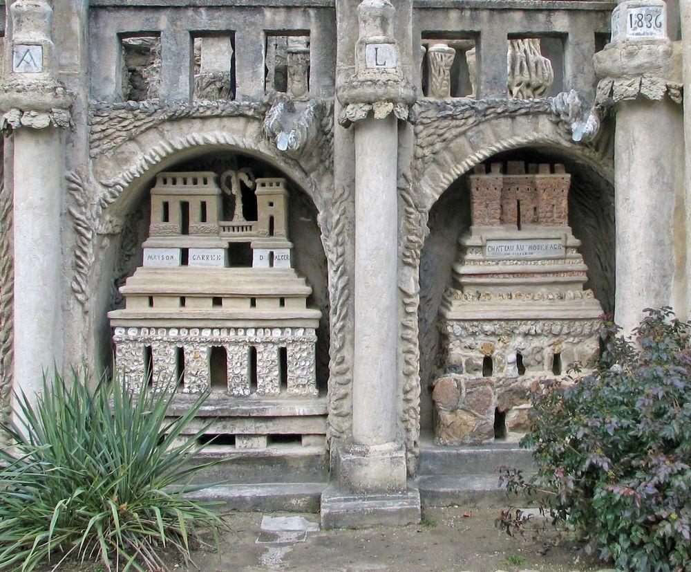 Французский почтальон Ф. Шеваль и его «Идеальный дворец» вдохновляемся,резьба по камню