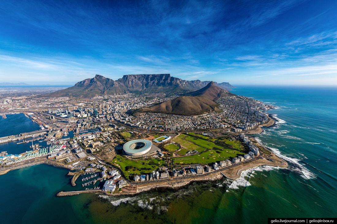 Кейптаун : самый красивый город Африки с высоты