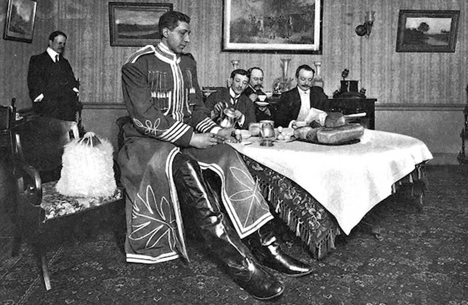 Как самый высокий человек в мире жил в Российской империи