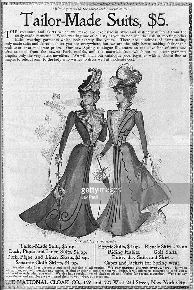 Женщины в американской рекламе рубежа XIX-XX веков
