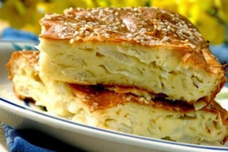 Жидкий пирог на кефире: рецепт приготовления с фото
