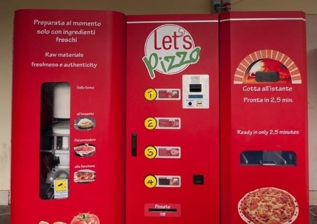Как производят автоматы для пиццы