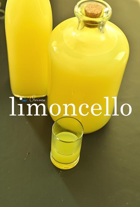 Итальянская кухня. Ликер Лимончелло кухни мира,напитки,напитки алкогольные