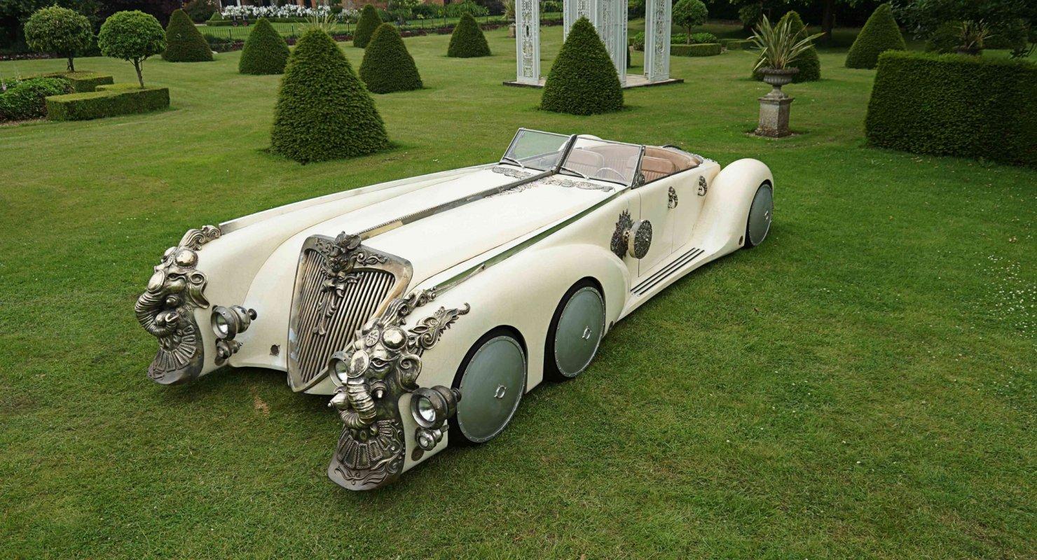 Загадочный автомобиль из фильма «Лига выдающихся инженеров» Автомобили