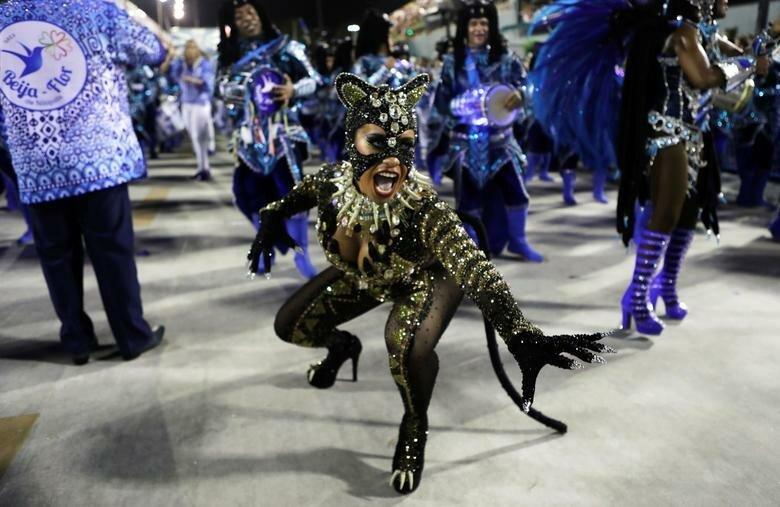Их королева барабанов - Раиссия де Оливьера бразилия, в мире, карнавал, события, фото, фотоотчет, фоторепортаж