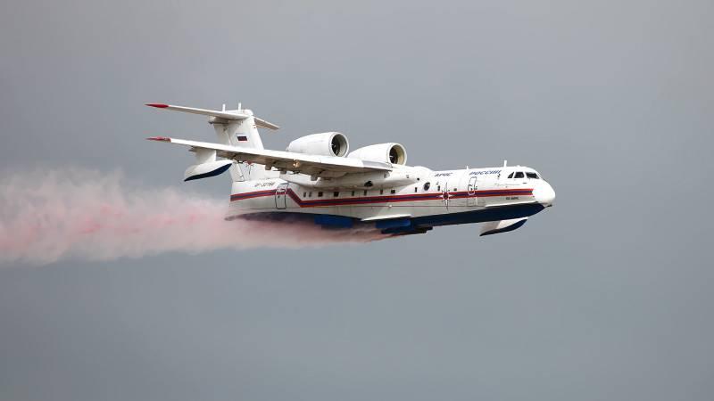 Пожарную эскадрилью из 22 самолетов и вертолетов создадут в России Политика