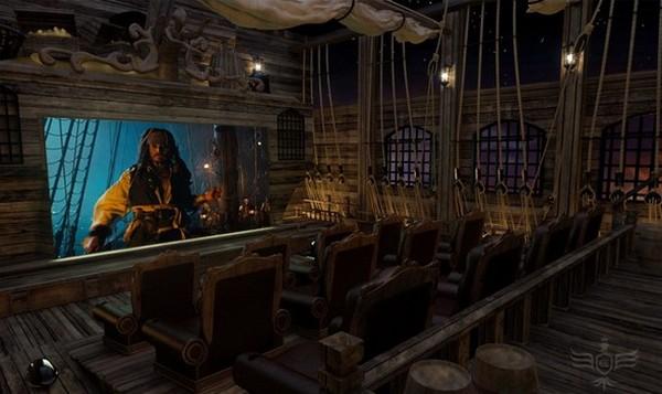 Не выходя из дома. ТОП-10 самых необычных в мире домашних кинотеатров