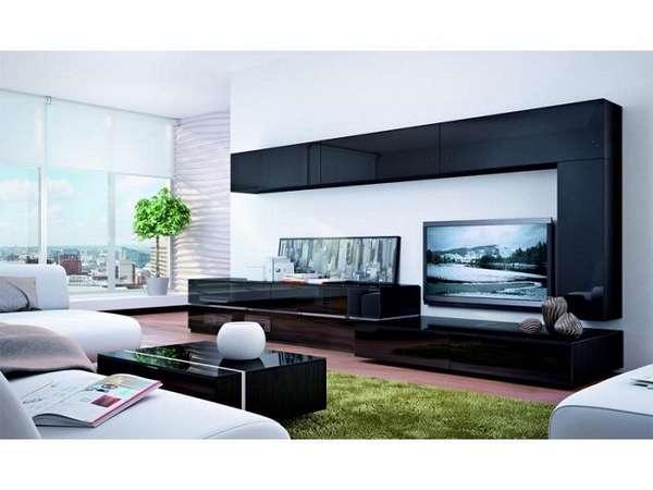 модульная стенка в гостиную в современном стиле, фото 11