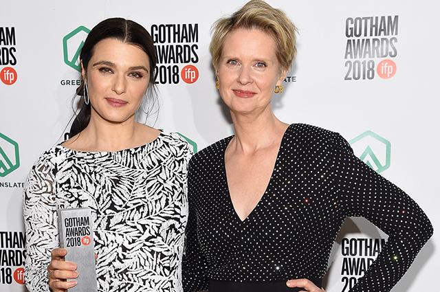 Рэйчел Вайс, Синтия Никсон, Итан Хоук и другие на церемонии вручения премия Gotham Awards 2018