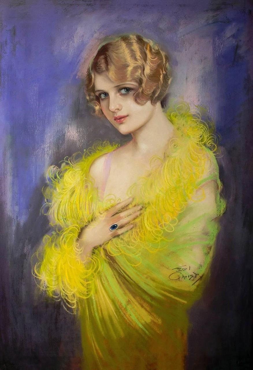 Ф. Эрл Кристи (1882-1961)  и его картины