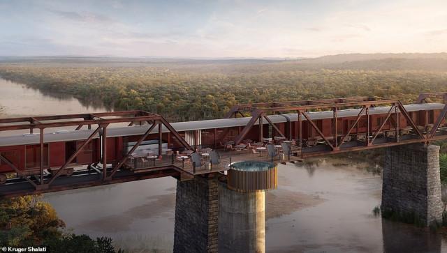В Африке хотят построить уникальный поезд-отель