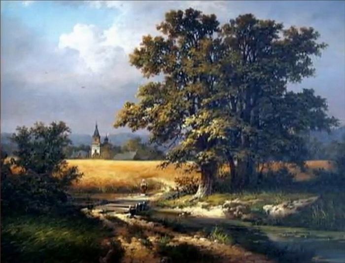 Провинциальный художник рисует очень русские пейзажи, которые возвращают в душу гармонию