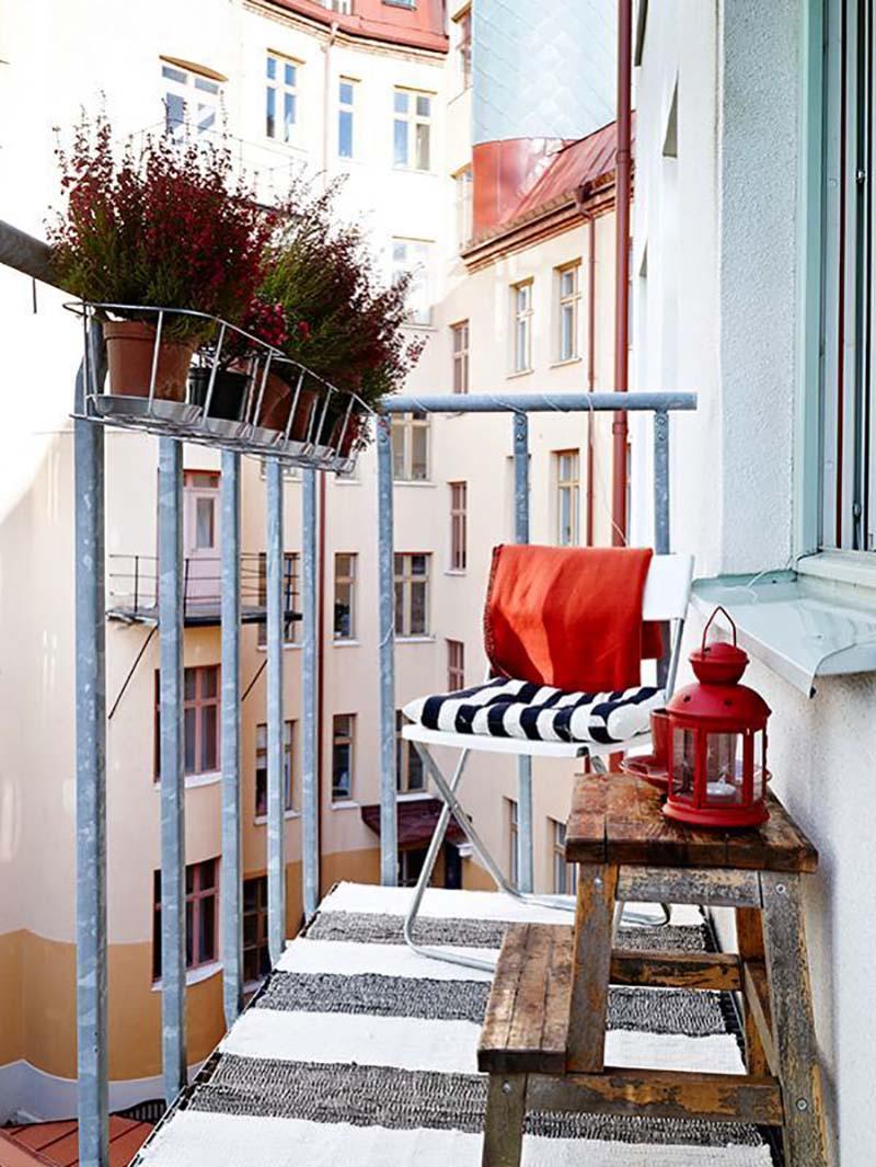 идея дизайна балкона