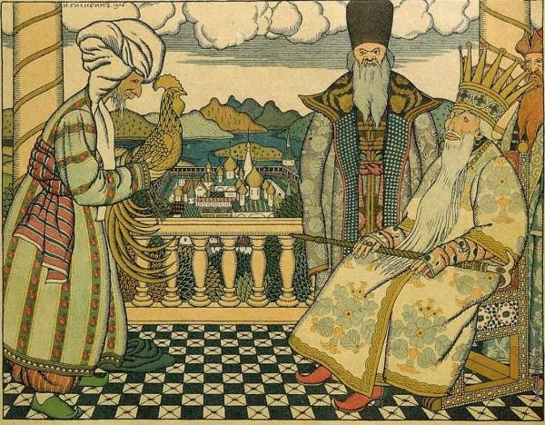 Некоторые детали детских сказок Пушкина