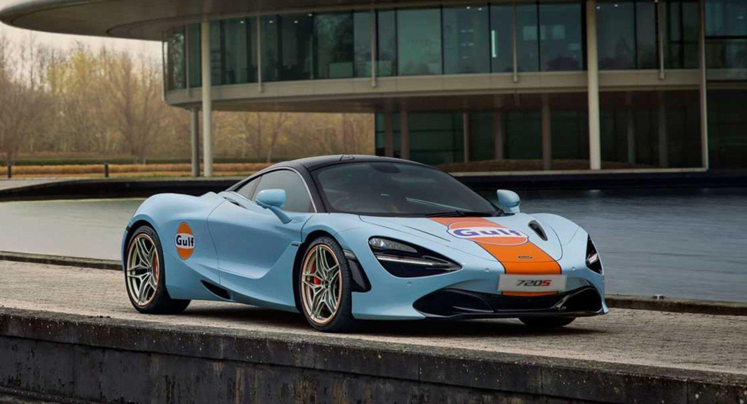McLaren сделал особый суперкар 720S в честь гонок прошлого Автомобили