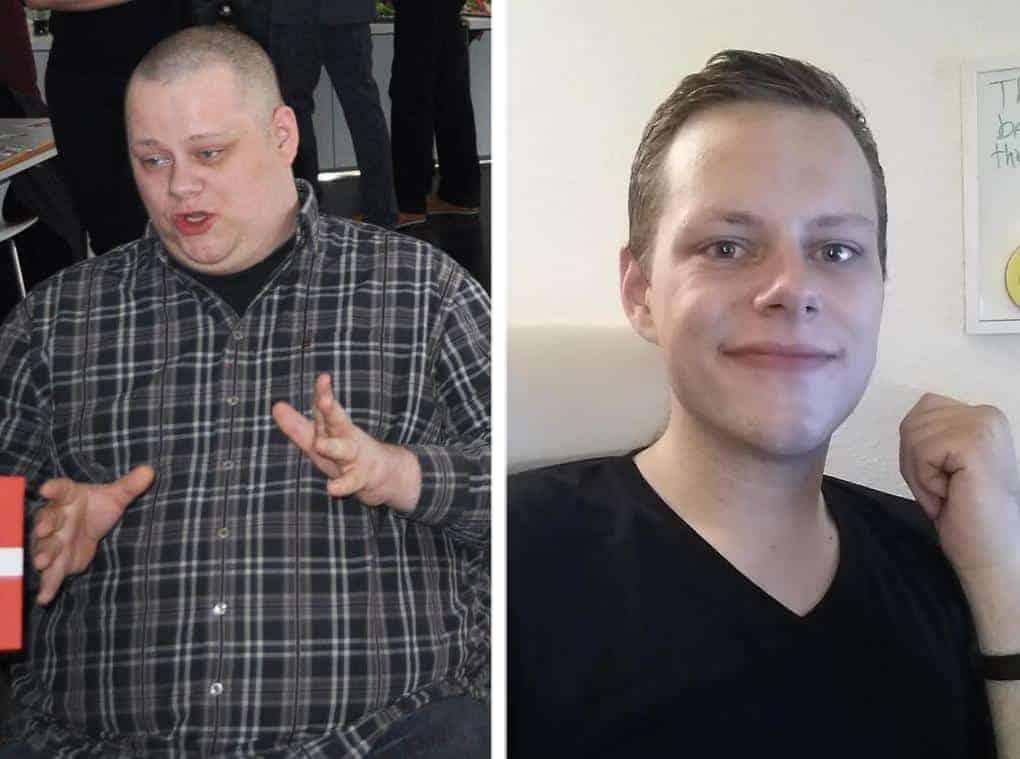 Как похудеть лицо парню