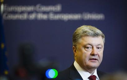 """Порошенко заявил планах создать """"четыре союза"""" с ЕС"""