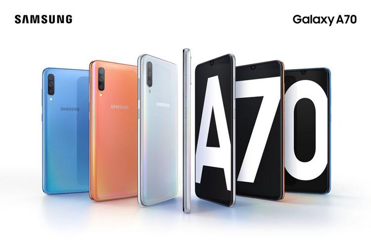 Samsung анонсировала смартфон Galaxy A70 с 6,7-дюймовым дисплеем новости