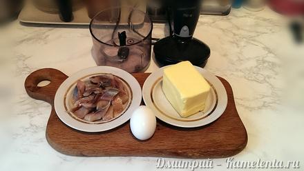 Приготовление рецепта Селедочное масло шаг 1