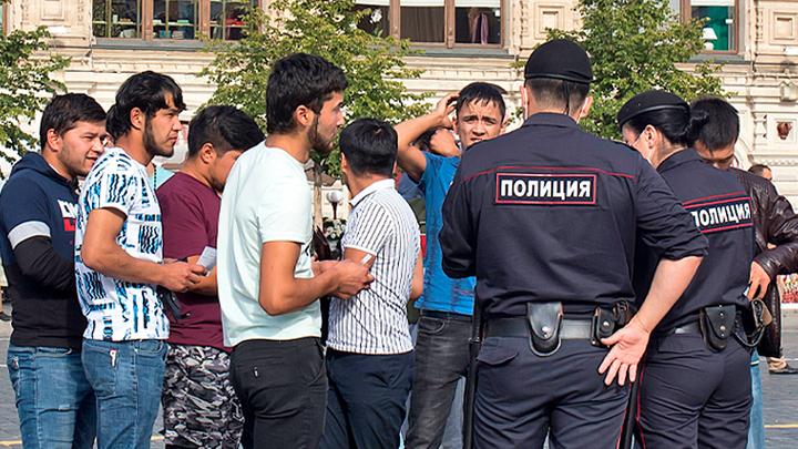 Массовая драка: Мигранты делят Москву и плюют в русских россия