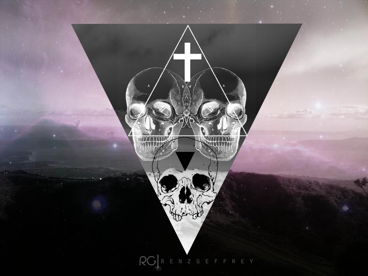 этого, картинки с треугольниками и крестами собой