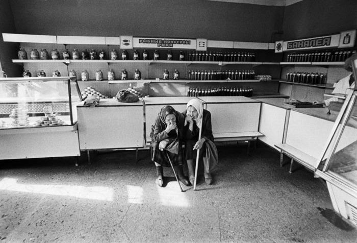 Убогий СССР на фото 1980-х годов.