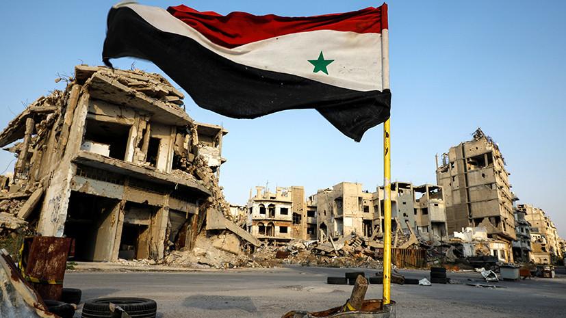 Последние новости Сирии. Сегодня 8 мая 2019 сирия