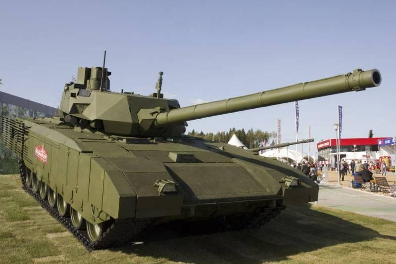 Раскрыта новая роль танка Т-14 «Армата» на поле боя